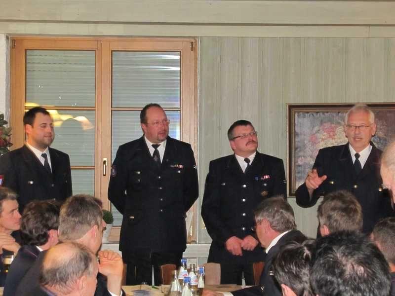 Feuerwehr Weinheim Jahreshauptversammlung Abteilung Oberflockenbach