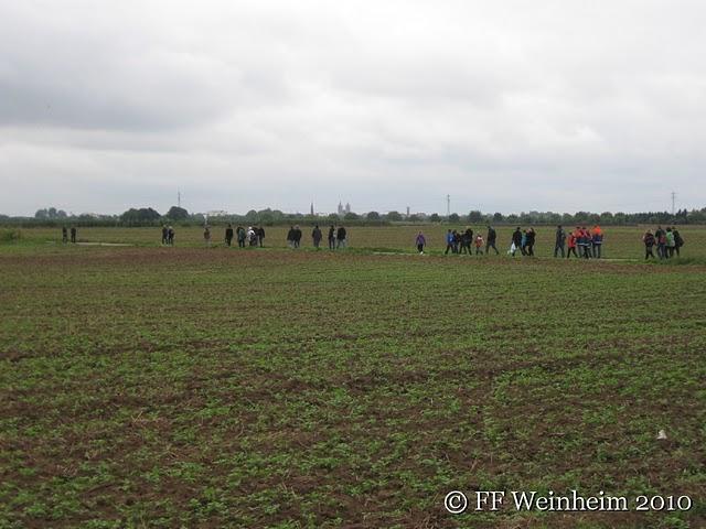 Wandertag der Jugendfeuerwehr Weinheim