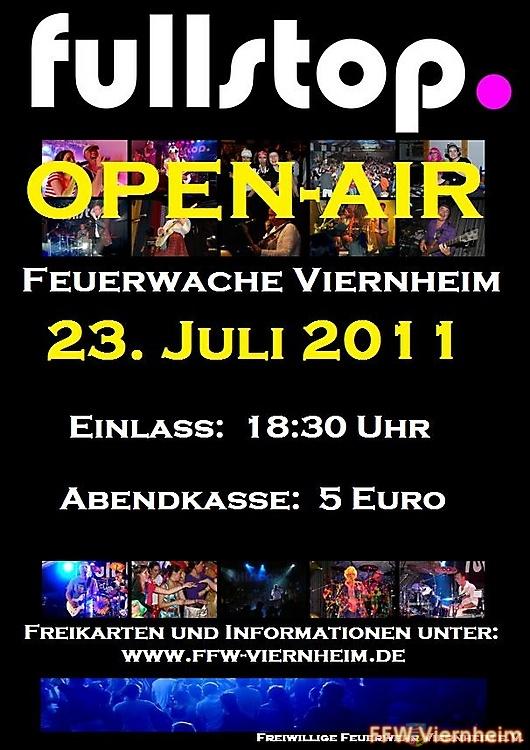 Open Air Konzert in Viernheim