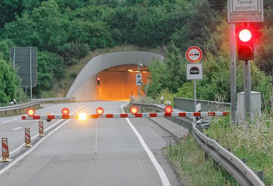 Saukopftunnel am 8. März voll gesperrt