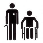 Behinderte Personengruppen