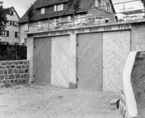 Das alte Gerätehaus