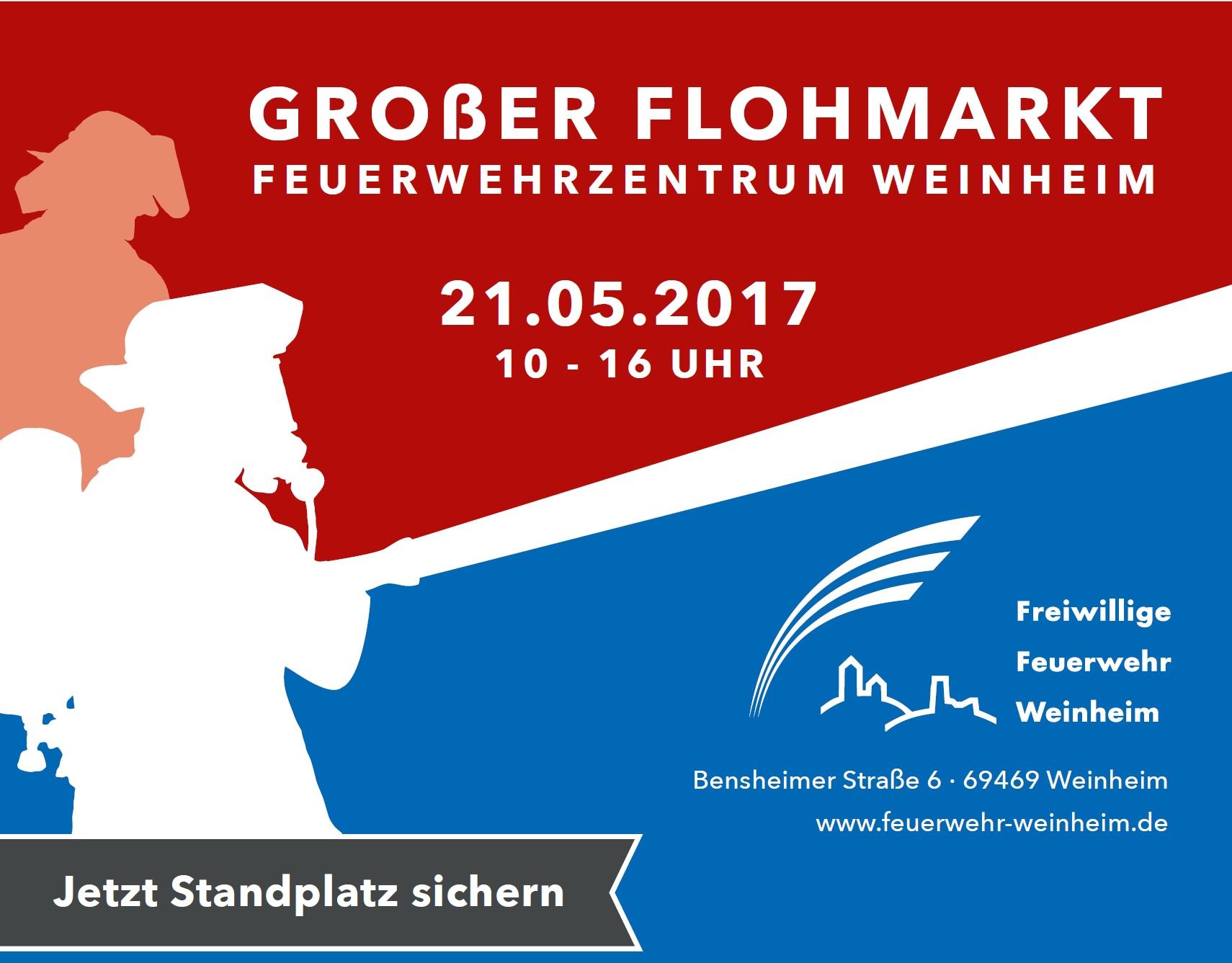 Tag der offenen Tür am 21.05.2017, Feuerwehrzentrum Weinheim